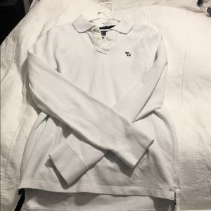 Abercrombie & Fitch Long Sleeve Polo